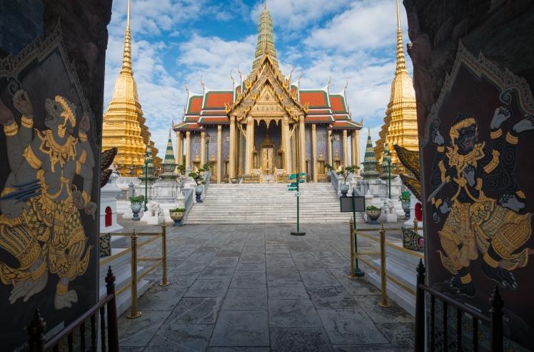 Thailand - Bangkok - Temple of the Emerald Buddha
