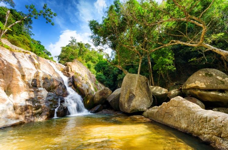 Thailand- Koh Samui Waterfall